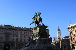 Imagine de Monumento a Vittorio Emanuele II. city milan statue bronze square milano centro center ii tribute piazza statua città emanuele vittorio tributo bronzo