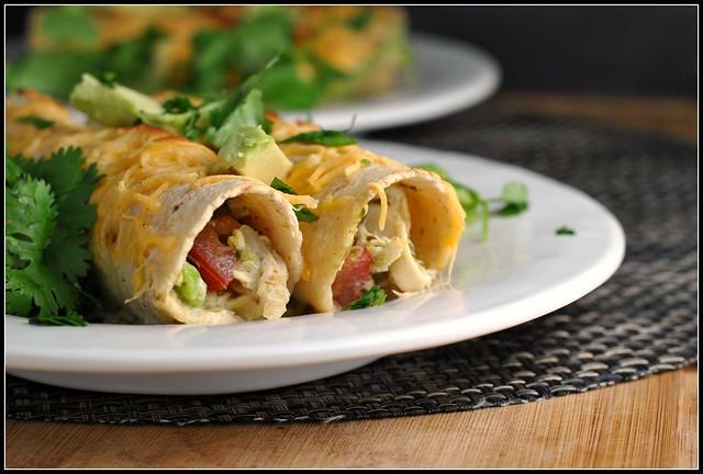 Chicken Enchilada Verdes 4
