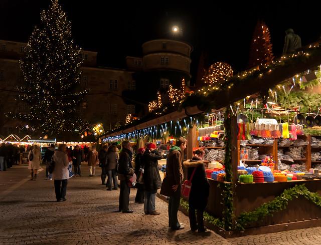 Stuttgart Christmas Market 2010