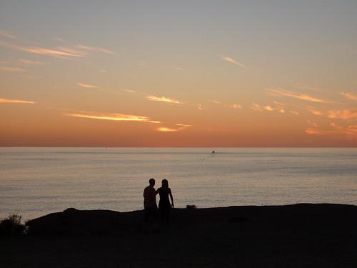 Lanzarote Sunset Silouhette