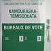 C'est jour de vote dans le Kam-Témis!