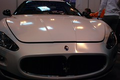 automobile(1.0), automotive exterior(1.0), maserati(1.0), vehicle(1.0), performance car(1.0), automotive design(1.0), maserati granturismo(1.0), land vehicle(1.0), luxury vehicle(1.0), supercar(1.0),