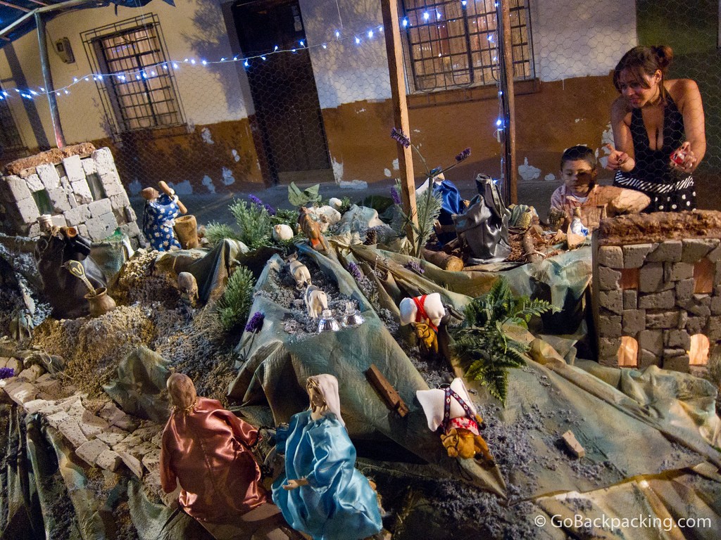 Scenes depicting the life of Christ