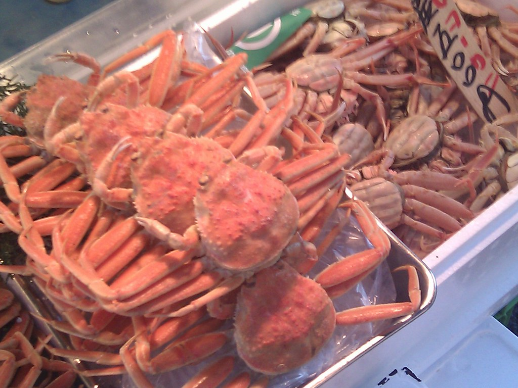 Crabs at Tsukiji Fish Market