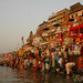 Ganges Comes to Life in Early Morning - Varanasi, India