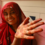 Mehndi Hands - Udaipur, India