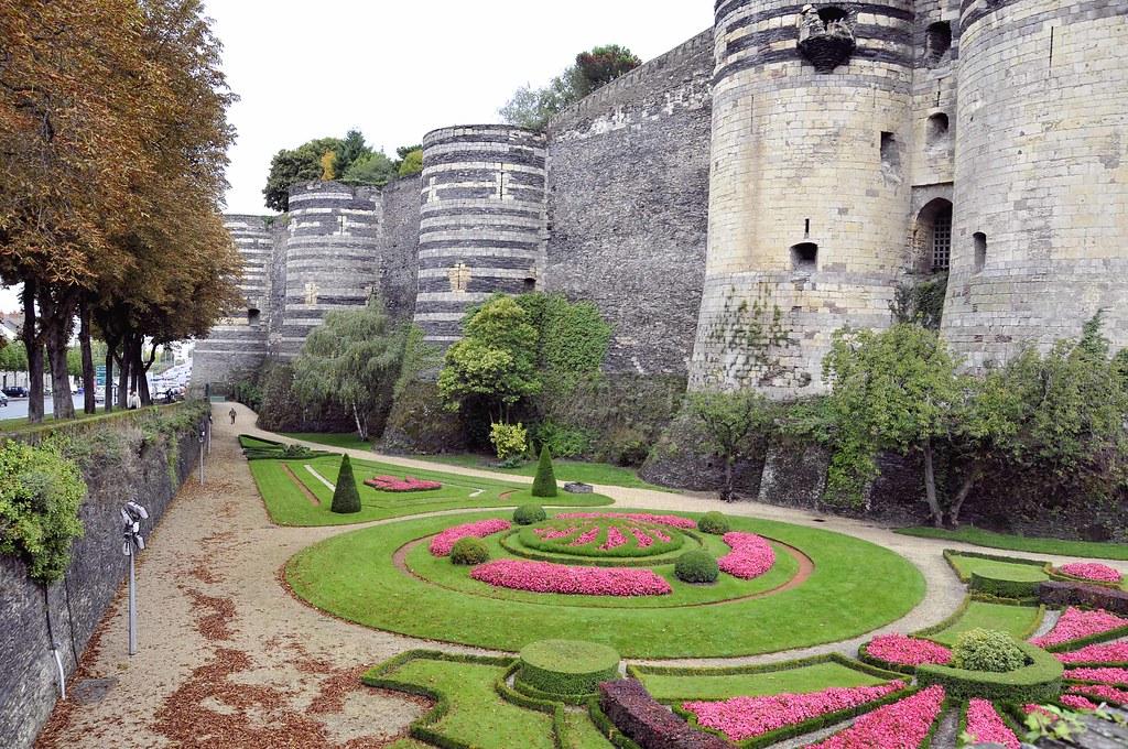 Jardines Chateau Angers