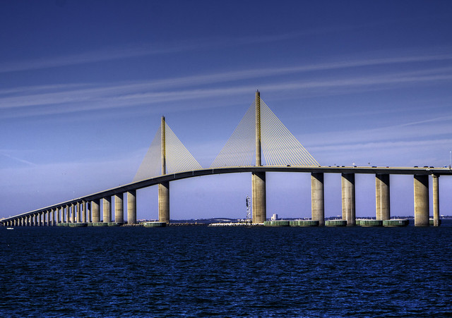 The Sunshine Skyway HDR