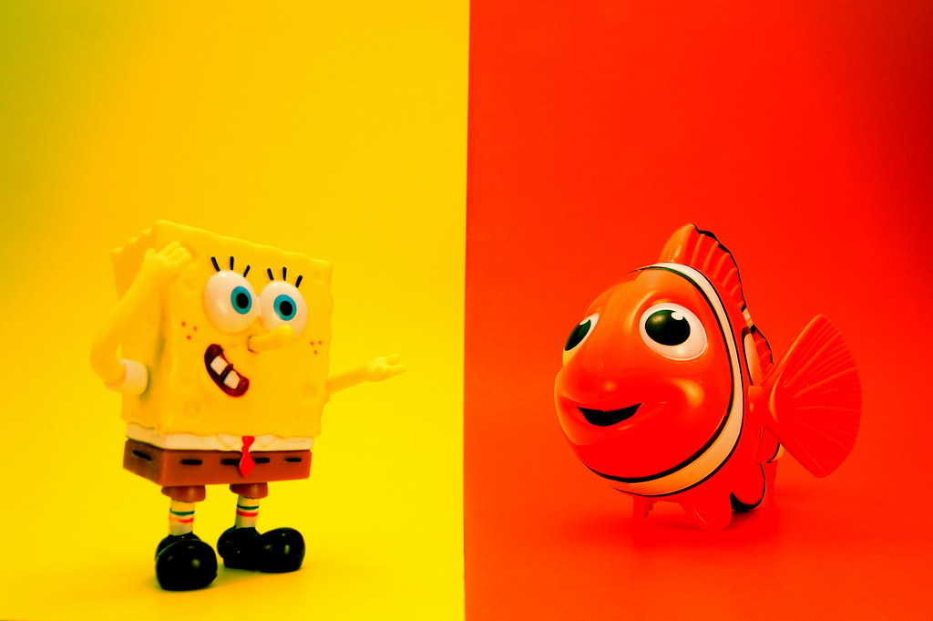 SpongeBob SquarePants vs. Nemo (360/365)