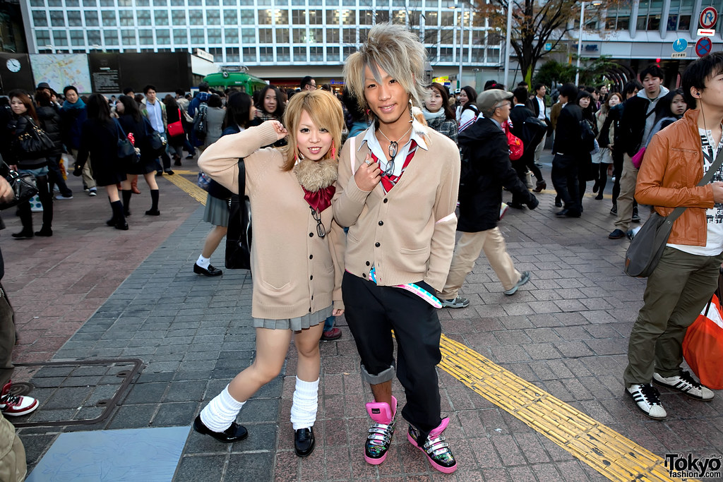 Shibuya School Uniform Style
