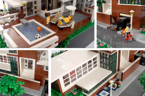 Moc alheio casa moderna for Casa moderna lego