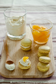 Lemon Pepper Macarons