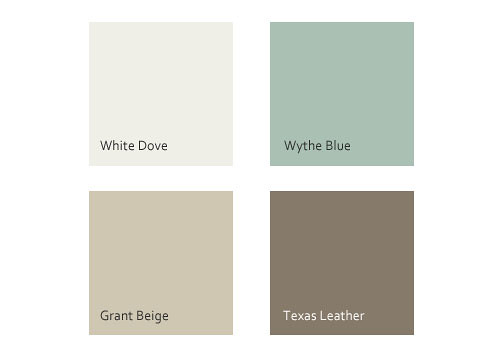 Libbie grove design january 2011 for Dove white paint color