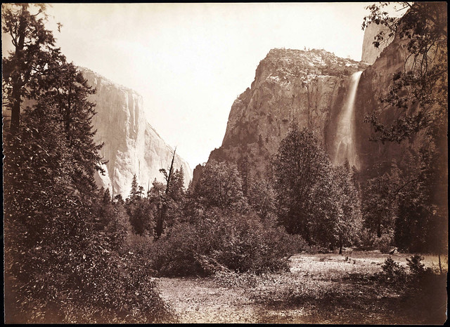 View of Tutocanula Pass, Yosemite, California, by Carleton E. Watkins ca. 1880