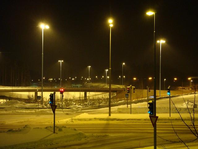 Перекресток у Scandic Espoo