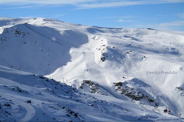 Lo sci in Sierra Nevada