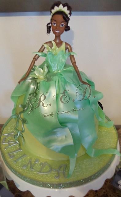 Princess Tiana Cake Images : Princess Tiana Doll cake Flickr - Photo Sharing!