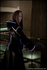 Kingdom Hearts cosplay: TRON style Organization XIII Vexen at Youmacon 2010