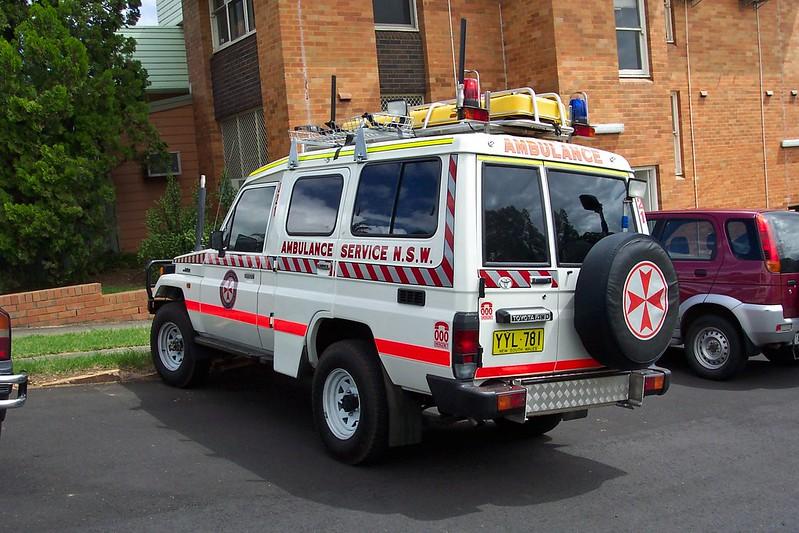 2003 Toyota LandCruiser 75 series Troopcarrier ambulance - Sydney