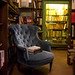 Blue Chair - Shakespeare and Company