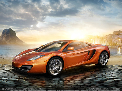 Test Drive Unlimited Game Game Wallpaper