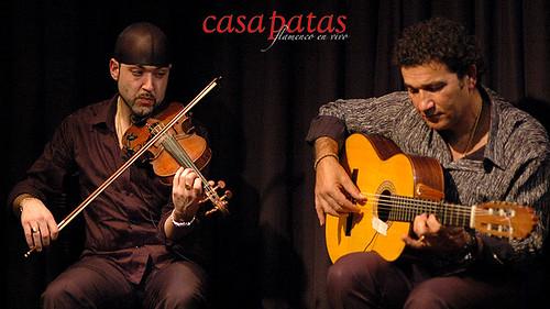 Fernando García al violín y