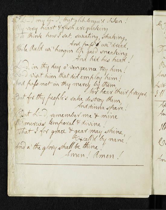 Robert Burns 'Holy Willie's Prayer' - page 5