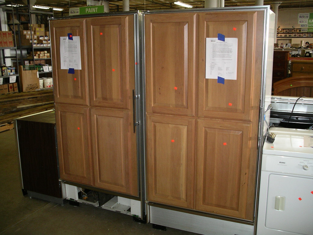 sub zero refrigerator door panels. Black Bedroom Furniture Sets. Home Design Ideas