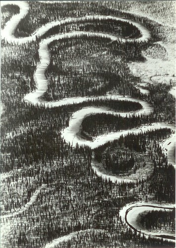 Meandering Stream, McGrath, AK