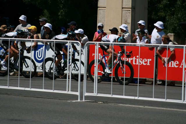 TDU 2011 Stage 6 - The Sky sprint lead out