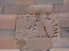 Armenia. Monasterio de Khor Virap. Altorrelieves
