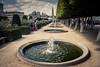 Fontaines en cascade...