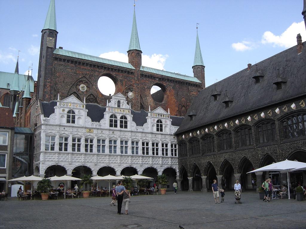 Lübeck: Rathaus