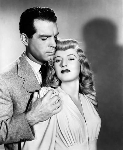Fred MacMurray and Barbara Stanwyck