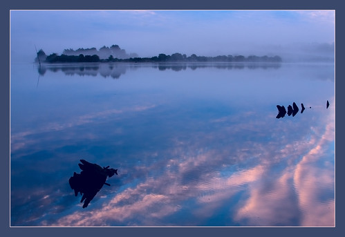 ocean pink blue sunset france bravo brittany bretagne fr finistere christianwilt