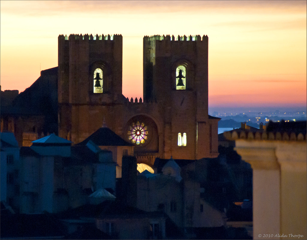 Lisbon Cathedral at sunrise