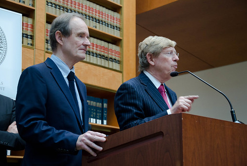 David Boies & Ted Olson after Prop 8 oral arguments at 9th Circuit Court of Appeals