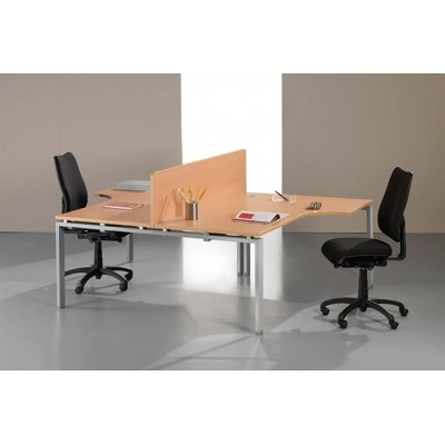 Ergonomic office desk 2 person flickr photo sharing - Two person office desk ...