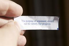 The Purpose of Argument (Credits: Imnotquitejack / FlickR)