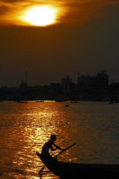 Sunset at Buriganga
