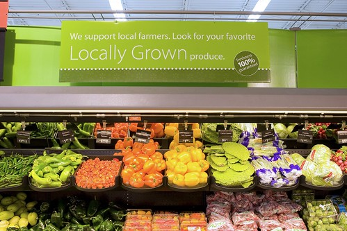 Walmart's locally grown produce