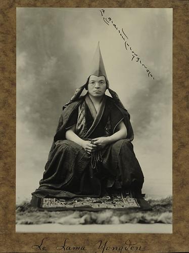 Le Lama Yongden by Preus museum