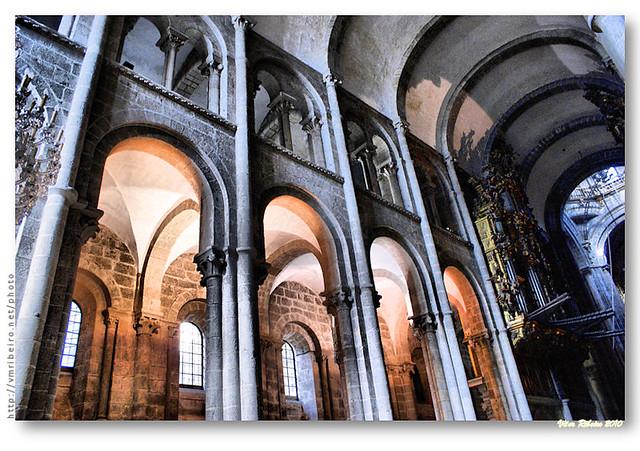 Interior da catedral de santiago de compostela flickr - Interior santiago de compostela ...