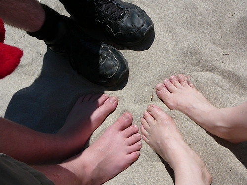 Yes, our feet touch earth