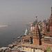 Overlooking the Ganges River - Varanasi, India