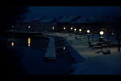 Morning under snow