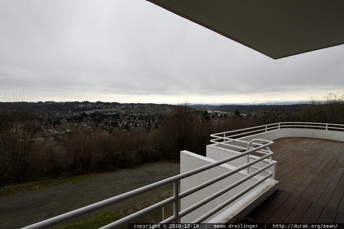view from first floor balcony / deck