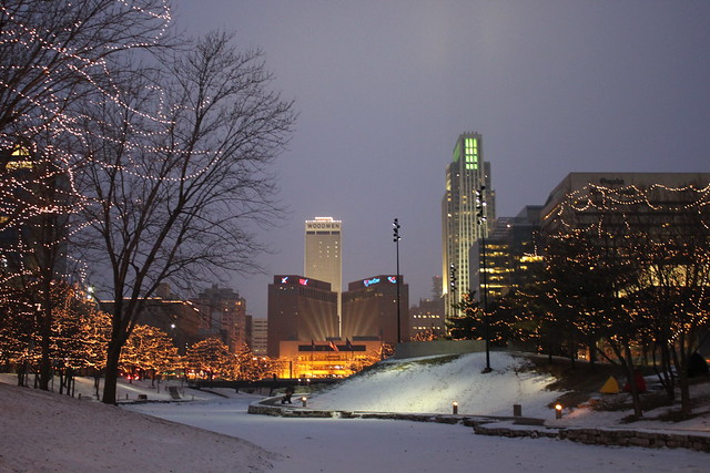 Gene Leahy Mall Downtown Omaha Flickr Photo Sharing