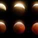 Lunar Eclipse Sequence, Morro Bay, CA, USA