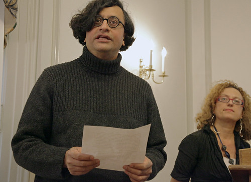 Iftikhar Dadi and Carolyn Christov-Bakargiev